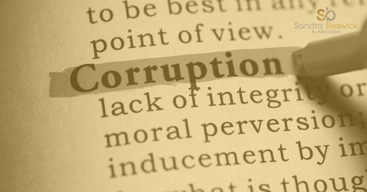 Corruption Versus Ethics in the Private Sector
